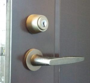 玄関ドアのディンプルキー
