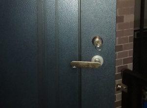 和泉市青葉のマンションの玄関