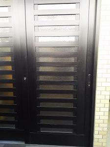 玄関の引き戸